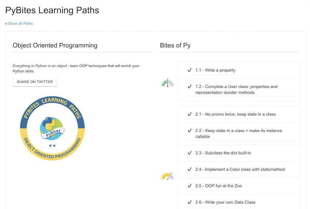 Another Learning Path done!