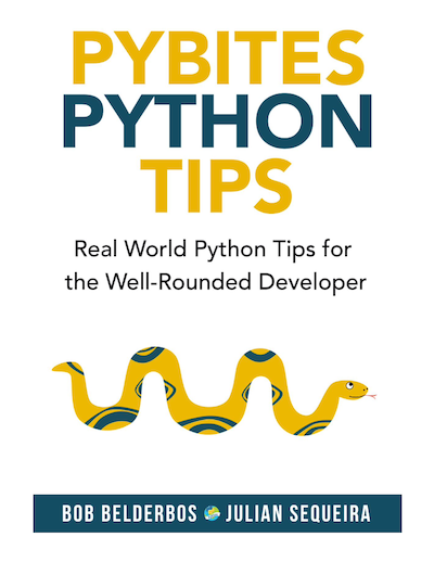 Get our Python Tips Book